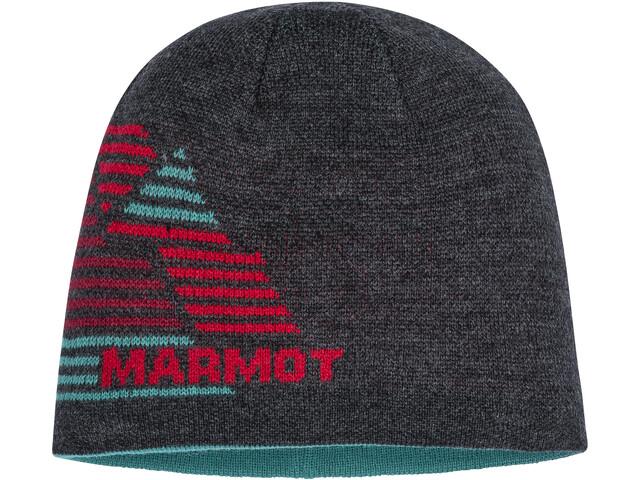 Marmot Novelty Gorro Reversible, dark grey heather